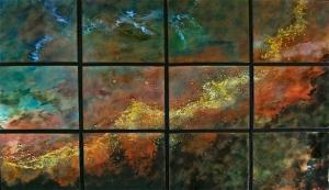"New Swan Nebula, 34"" x 54"""