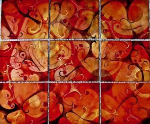 Autumn Figure - 9 Panels