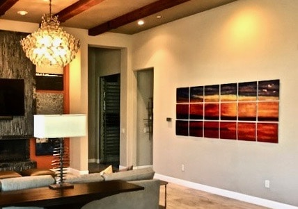 Sunset, Scottsdale Residence, AZ, 44%22 x 98%22