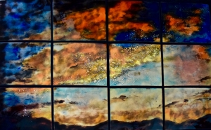 Large Sunset in 12. Panels, 44_ x 66_jpg