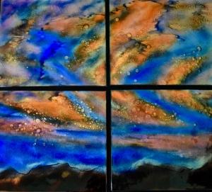 Sunset Quartet, 28_ x 32_