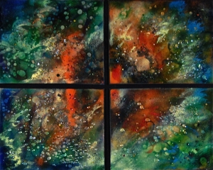 "Orion Quartet, 22""x 26"""