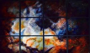 "Starlight Nebula, 44""x 66"""