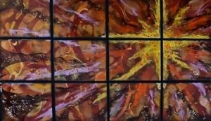 """Golden Star Nebula, 34""""x 54"""""""