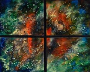 """Orion Quartet, 22""""x 26"""""""