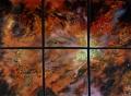 """Bear Nebula Sextet, 25"""" x 33"""".jpg"""
