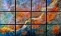 Desert Swan in 12 Panels