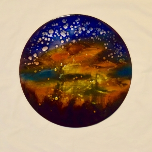 "Mysterious Sunset, 12"" disc"
